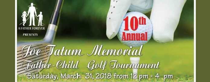 2018 Golf Tournament Header