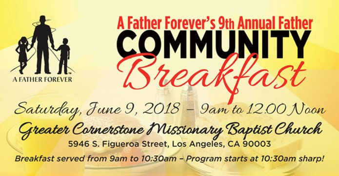 2018 AFF 9th Annual Community Breakfast